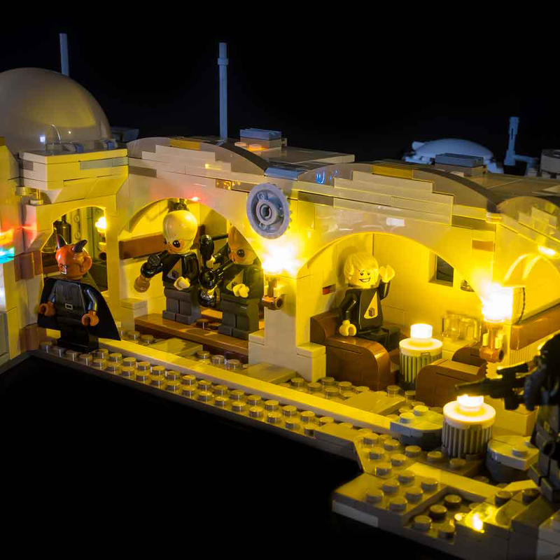 LEGO Star Wars Mos Eisley Cantina 75290 Light Kit - My Hobbies
