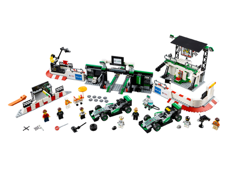 LEGO 75883 Speed Champions MERCEDES AMG PETRONAS Formula One™ Team