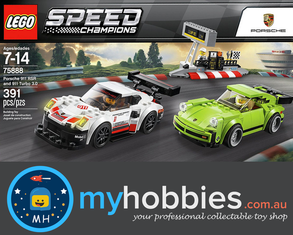 lego 75888 speed champions porsche 911 rsr and 911 turbo 3. Black Bedroom Furniture Sets. Home Design Ideas