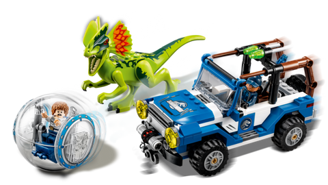 Copy of LEGO 75916 Jurassic World  Dilophosaurus Ambush