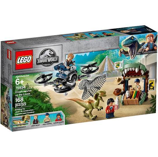 LEGO® 75934 Jurassic World™ Dilophosaurus on the Loose