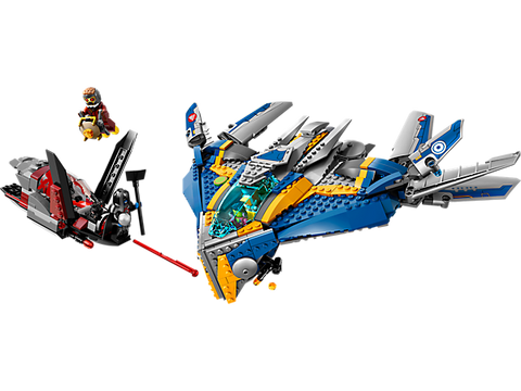 LEGO 76021 Marvel Super Heros Guardians Of The Galaxy Milano Spaceship Rescue