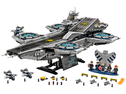 LEGO 76042 Marvel Super Heroes - The SHIELD Helicarrier
