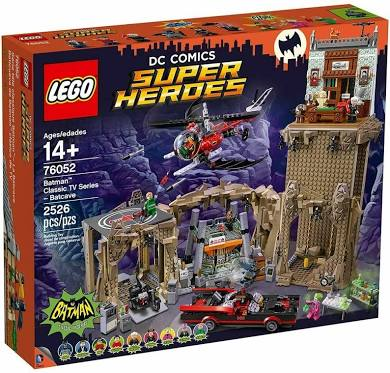 LEGO® 76052 DC Super Heroes Batman Classic TV Series Batcave - My Hobbies