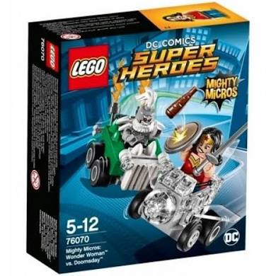 LEGO® 76070 DC Super Heroes Mighty Micros: Wonder Woman vs. Doomsday