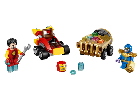 LEGO 76072 Marvel Super Heros Mighty Micros: Iron Man vs. Thanos
