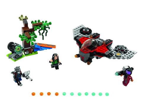 LEGO 76079 Marvel Super Heros Ravager Attack