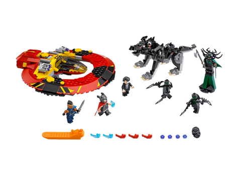 LEGO 76084 Marvel Super Heros The Ultimate Battle for Asgard