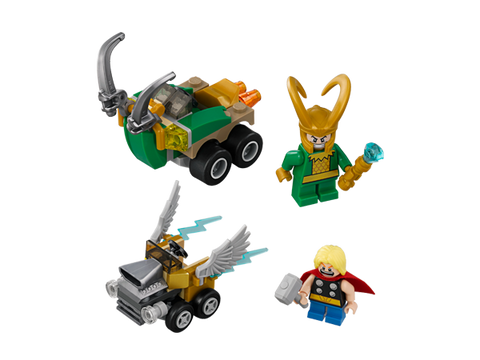 LEGO 76091 Marvel Super Heros Mighty Micros: Thor vs. Loki