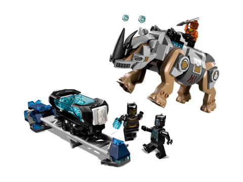 LEGO 76099 Marvel Super Heros Rhino Face-Off by the Mine