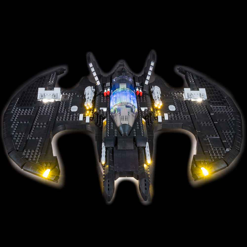 LEGO 1989 Batwing 76161 Light Kit - My Hobbies