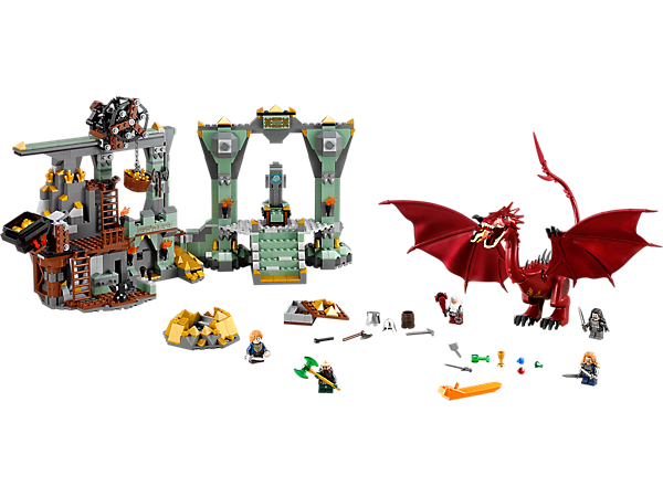 LEGO 79018 The Hobbit The Lonely Mountain,  SMAUG - My Hobbies