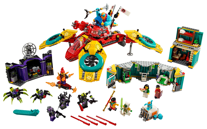 LEGO® 80023 Monkie Kid's Team Dronecopter - My Hobbies