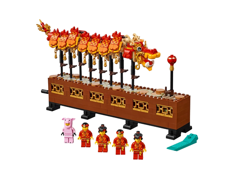 LEGO 80102 Seasonal Dragon Dance - My Hobbies