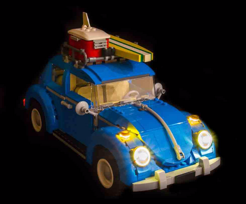 LEGO Volkswagen Beetle 10252 Light Kit (LEGO SET ARE NOT INCLUDED )