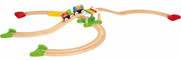 BRIO My First - My First Railway Beginner Pack, 18 pieces - My Hobbies