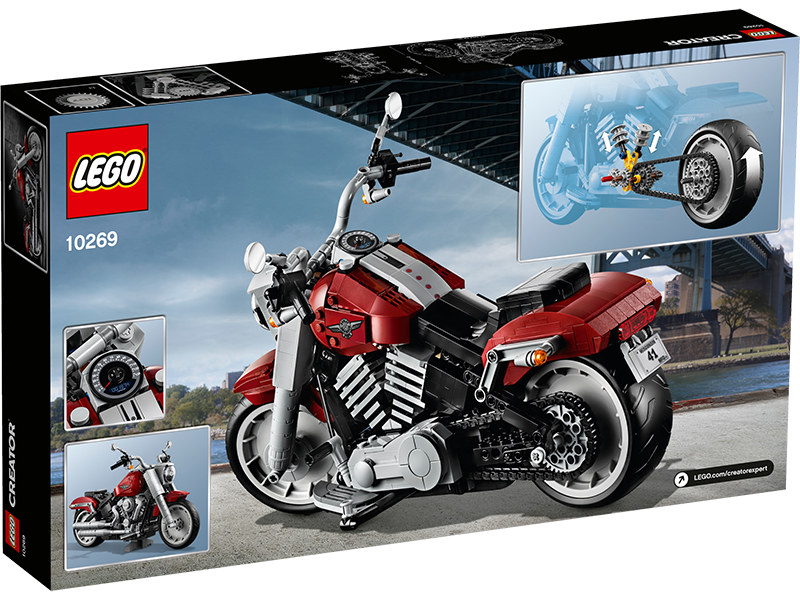 LEGO® 10269 Creator Expert Harley-Davidson® Fat Boy® - My Hobbies