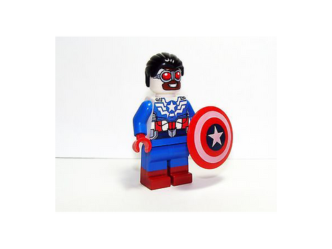 LEGO SDCC Exclusive Minifigures Captain American Sam Wilson