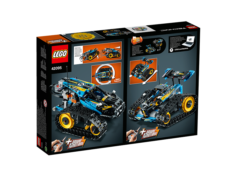 LEGO® 42095 Technic™ Remote-Controlled Stunt Racer - My Hobbies