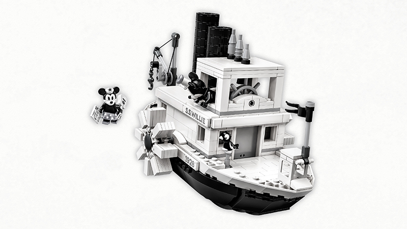 LEGO® 21317 Ideas Steamboat Willie - My Hobbies