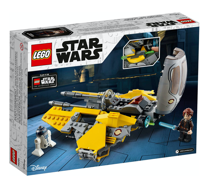 LEGO® 75281 Star Wars™ Anakin's Jedi™ Interceptor - My Hobbies