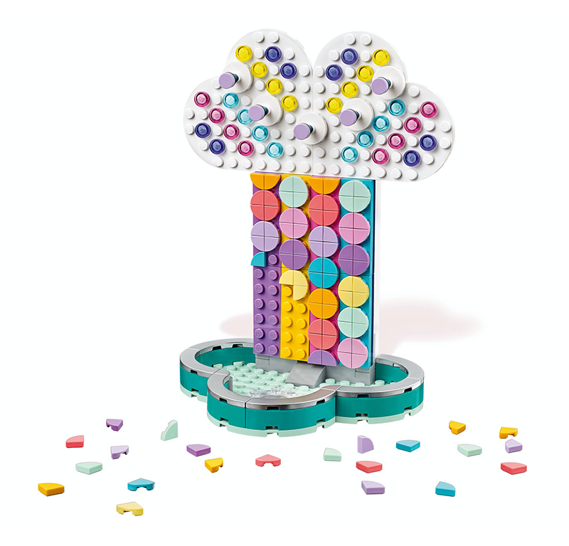 LEGO® 41905 DOTS Rainbow Jewelry Stand - My Hobbies