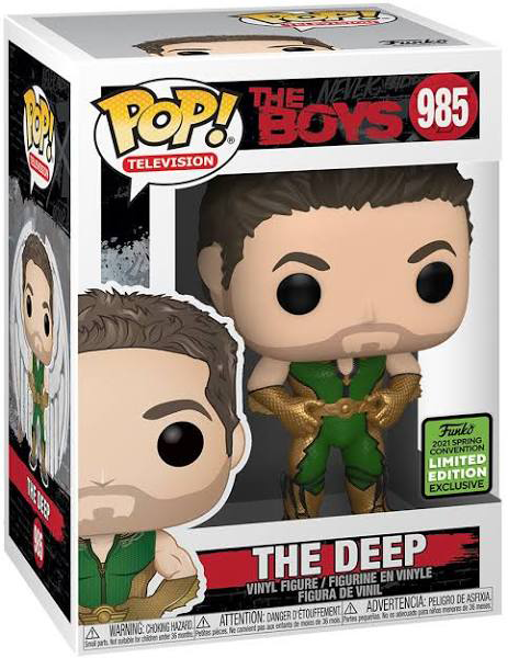 The Boys - The Deep Pop! Vinyl Figure (2021 Spring Convention Exclusive) - My Hobbies