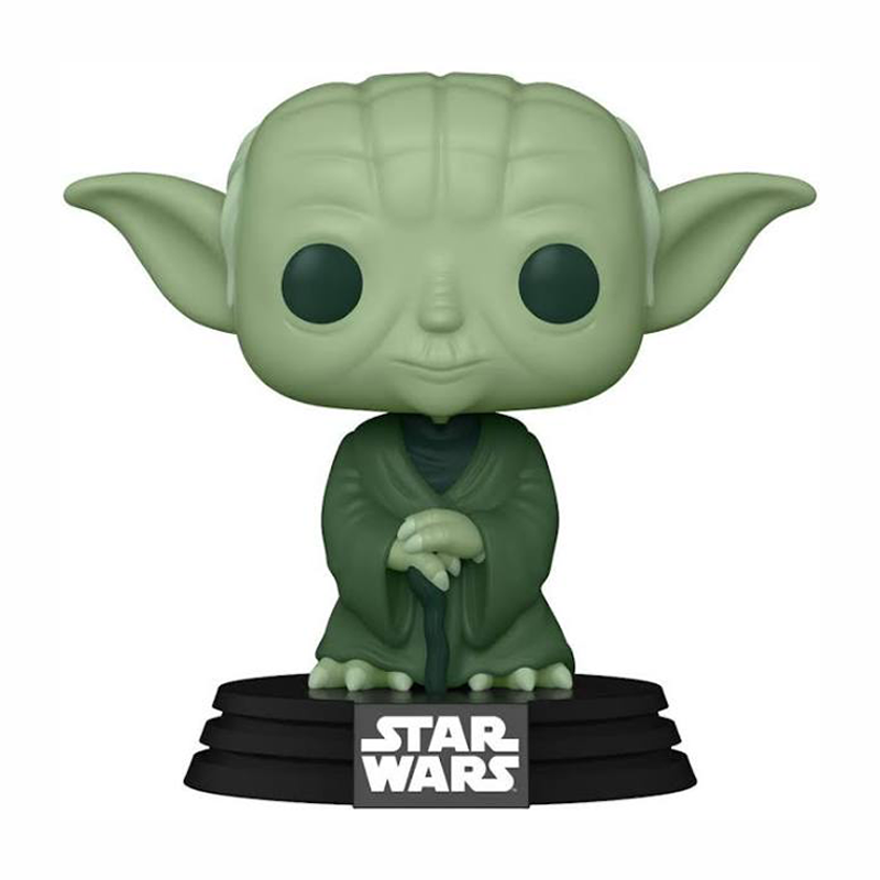 Star Wars - Yoda Military Green Pop! Vinyl Figure (2021 Spring Convention Exclusive) - My Hobbies