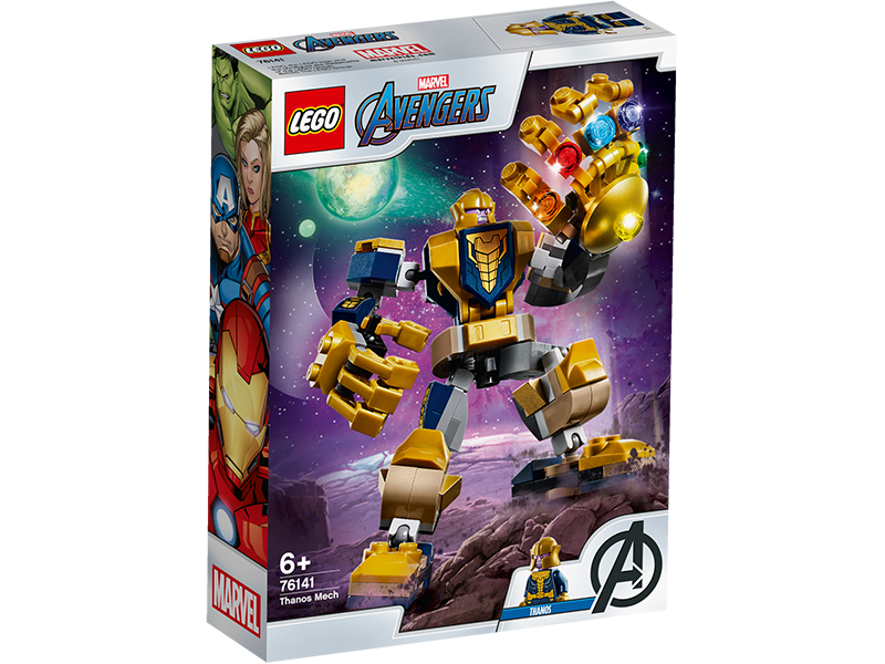LEGO® 76141 Marvel Super Heroes Thanos Mech - My Hobbies