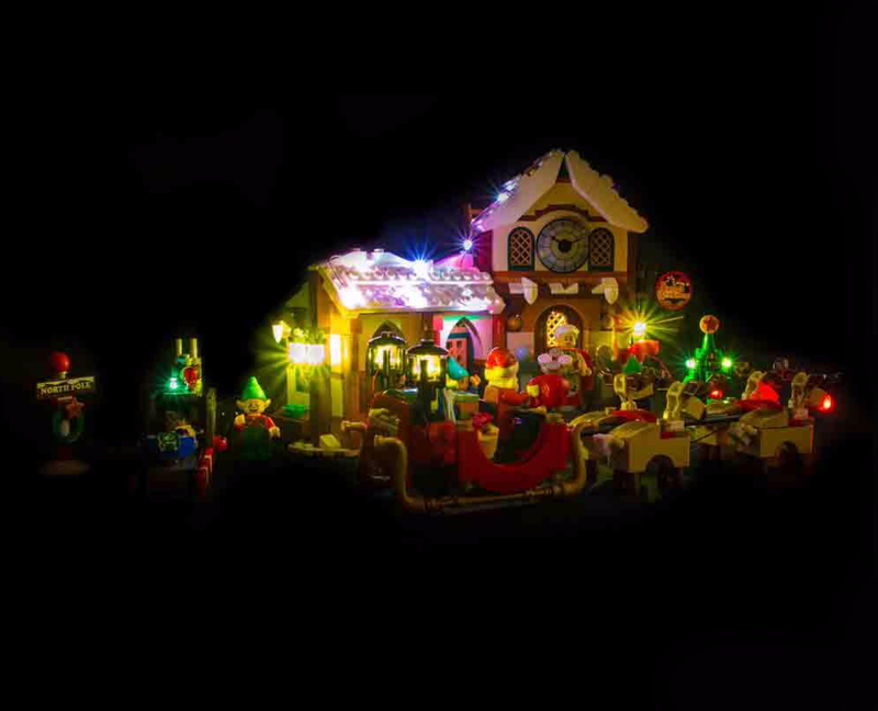 LEGO Santa's Workshop 10245 Light Kit (LEGO Set Are Not Included ) - My Hobbies