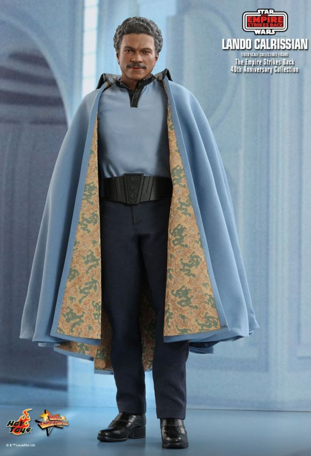 "Hot Toy Star Wars - Lando Calrissian 40th Anniversary 1:6 Scale 12"" Action Figure - My Hobbies"