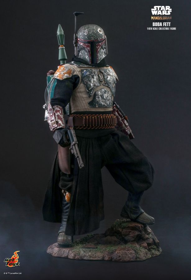 "Hot Toy Star Wars: The Mandalorian - Boba Fett 1:6 Scale 12"" Action Figure - My Hobbies"