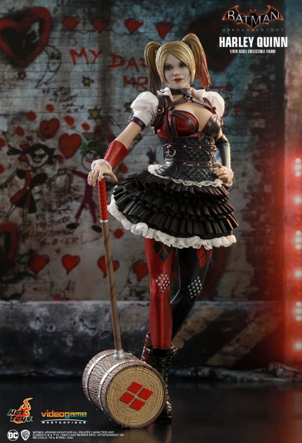 "Hot Toy Batman: Arkham Knight - Harley Quinn 12"" Scale Action Figure - My Hobbies"