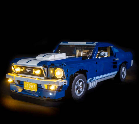 LEGO FORD MUSTANG GT 10265 LIGHT KIT (LEGO SET ARE NOT INCLUDED )