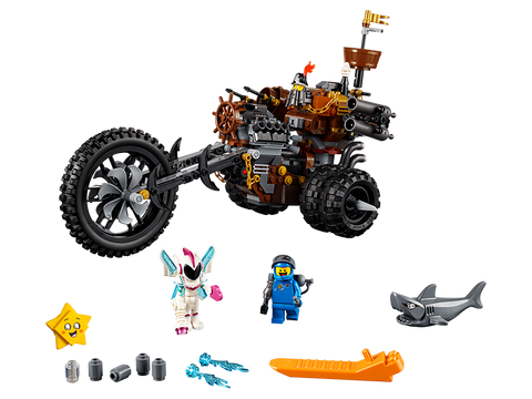 LEGO 70834 The Lego Movie 2 MetalBeard's Heavy Metal Motor Trike!