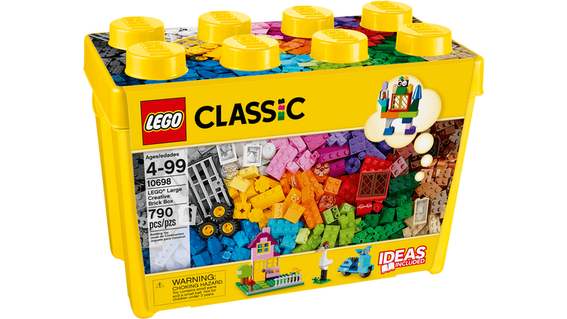 LEGO® 10698 Classic Large Creative Brick Box - My Hobbies