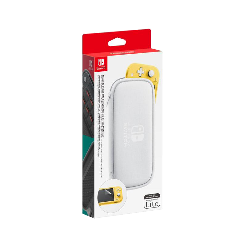Nintendo Switch Lite Carry Case and Screen Protector