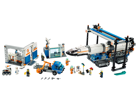 LEGO 60229 City Rocket Assembly & Transport