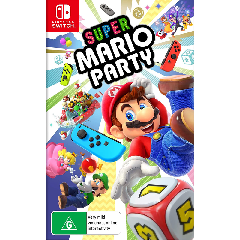 Super Mario Party - My Hobbies