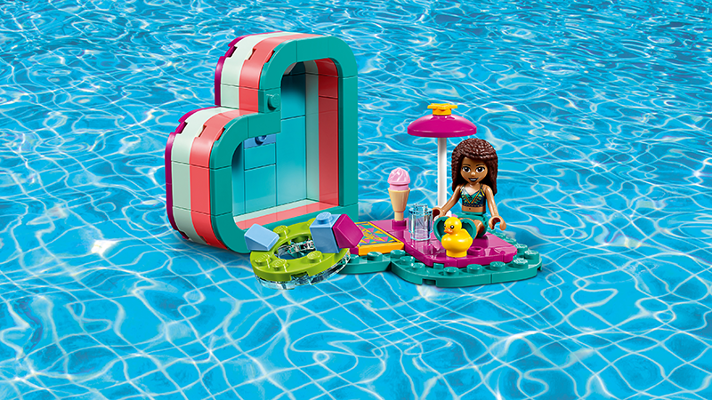 LEGO® 41384 Friends Andrea's Summer Heart Box - My Hobbies