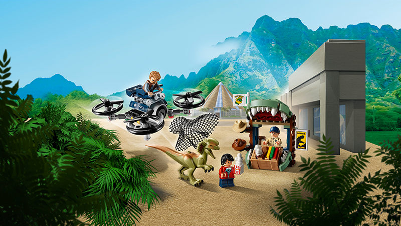 LEGO® 75934 Jurassic World™ Dilophosaurus on the Loose - My Hobbies