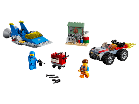 LEGO 70821 The Lego Movie 2 Emmet and Benny's 'Build and Fix' Workshop!