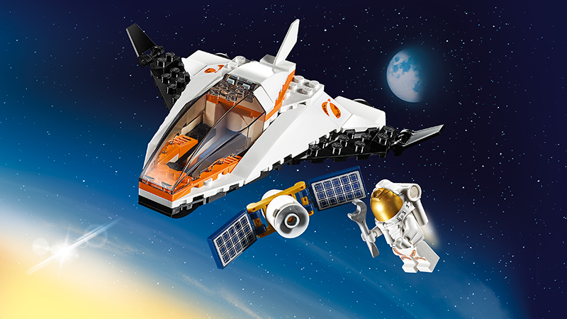 LEGO® 60224 City Satellite Service Mission - My Hobbies