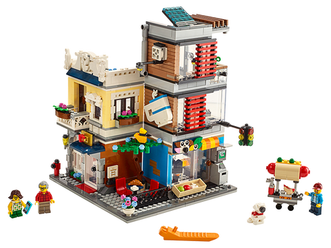 LEGO 31097 Creator Townhouse Pet Shop & Café