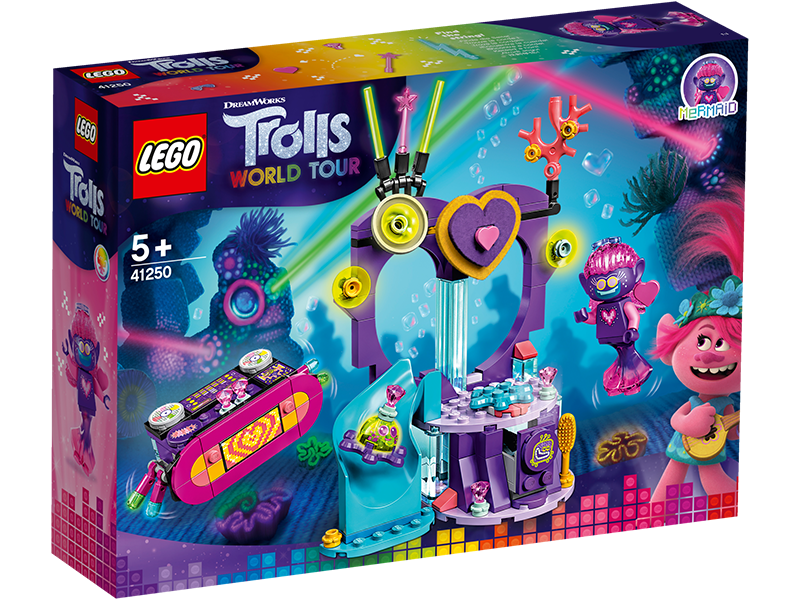 LEGO® 41250 Trolls World Tour Techno Reef Dance Party - My Hobbies