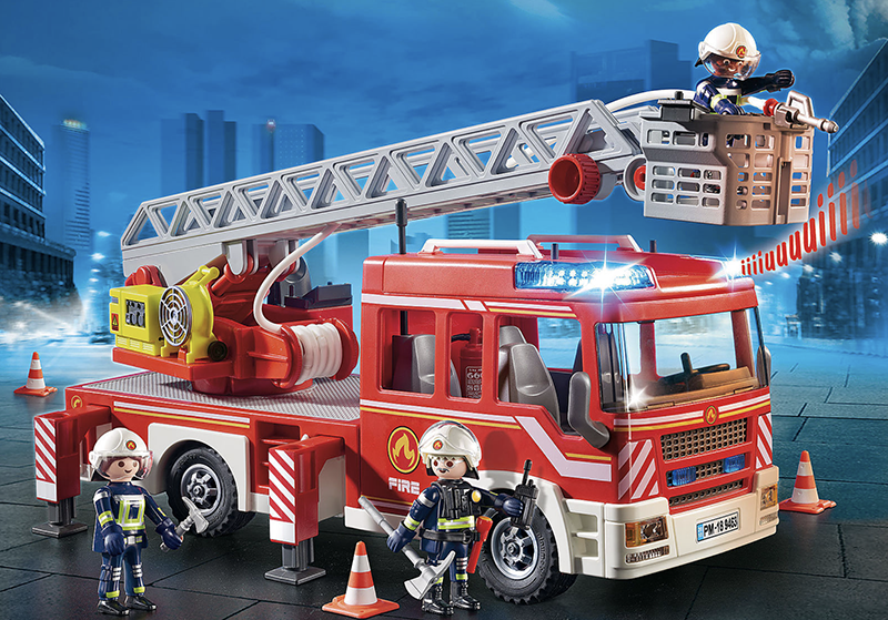 Playmobil - Fire Engine with Ladder - My Hobbies