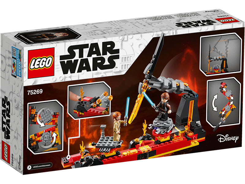 LEGO® 75269 Star Wars™ Duel on Mustafar™ - My Hobbies