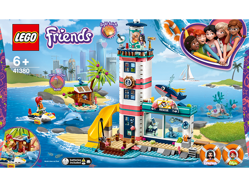 LEGO® 41380 Friends Lighthouse Rescue Center - My Hobbies