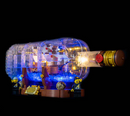 LEGO Ship in a Bottle 21313 Light Kit (LEGO Set Are Not Included ) - My Hobbies