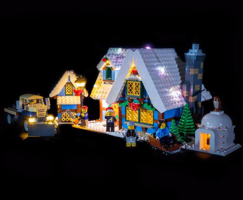 LEGO Winter Village Cottage 10229 Light Kit (LEGO Set Are Not Included ) - My Hobbies